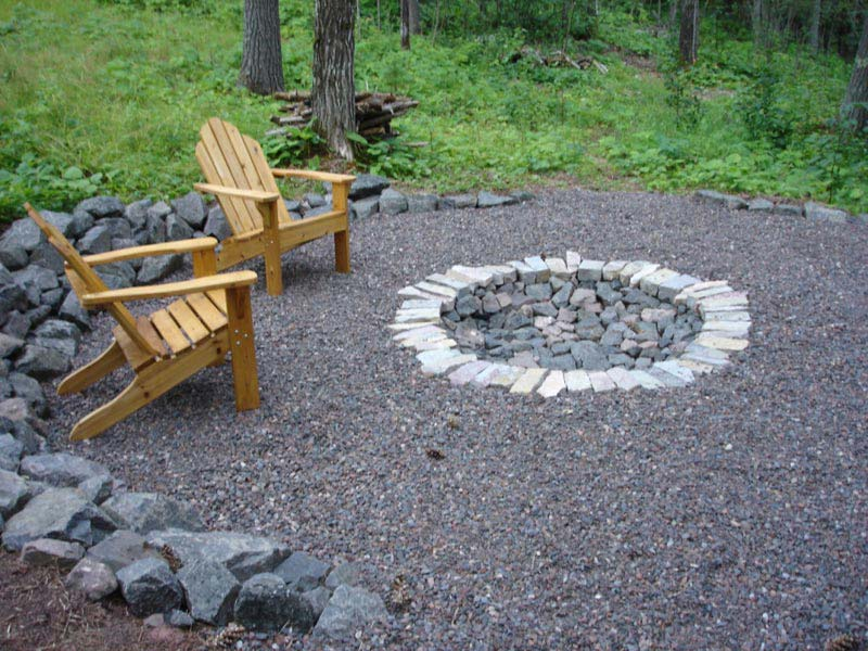 in ground fire pit construction » Design and Ideas