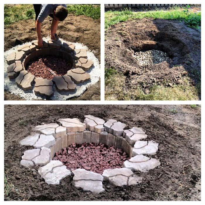 In Ground Firepit: In Ground Fire Pits How To Build » Design And Ideas