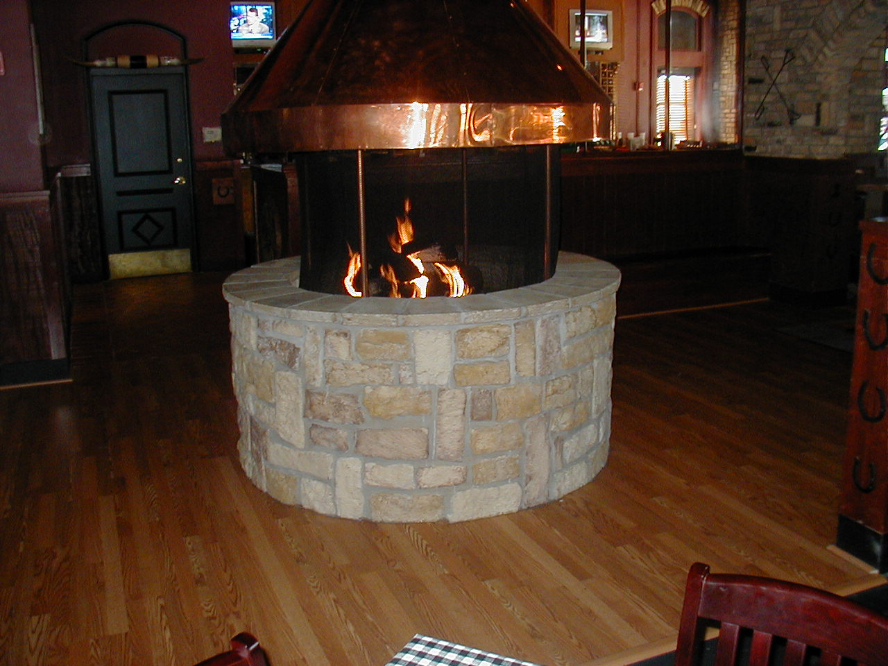 indoor fire pit » Design and Ideas