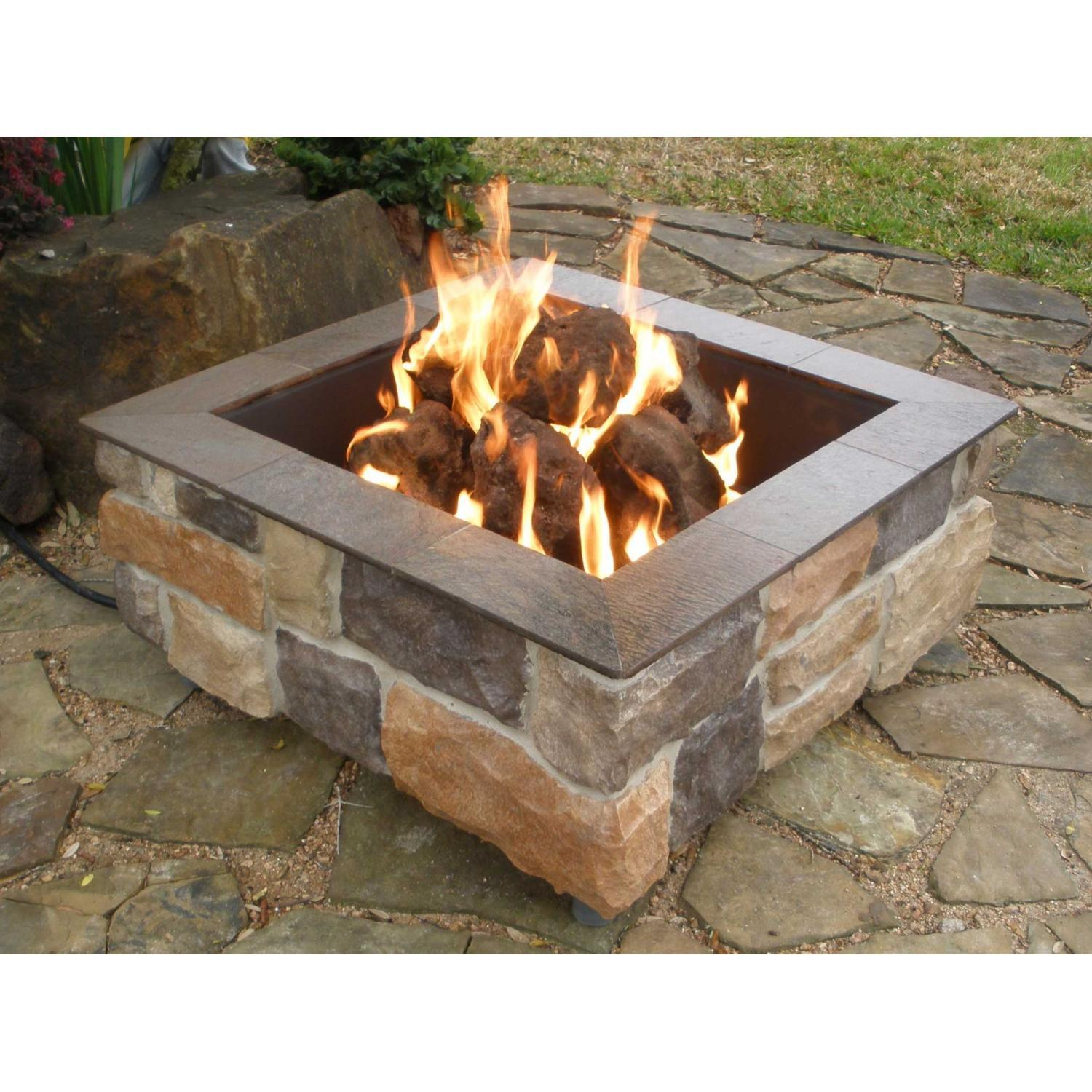 indoor fire pit gas