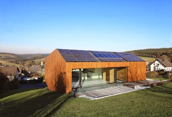 Industrialized Green Eco House photo - 3