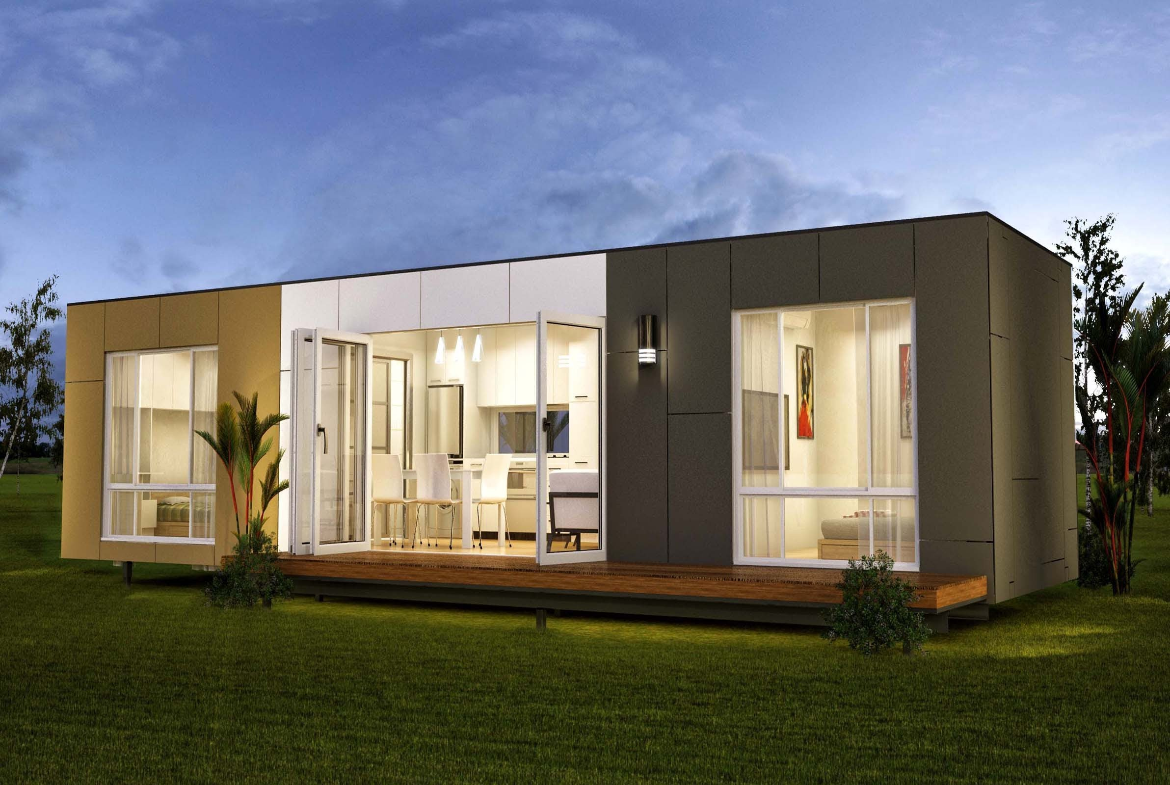 Innovative prefab container homes design and ideas for Architect designed modular homes