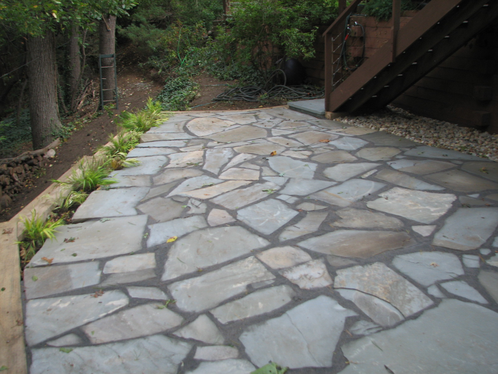 installing bluestone patio » Design and Ideas