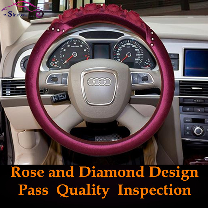 Interior Car Accessories Steering Wheel Cover
