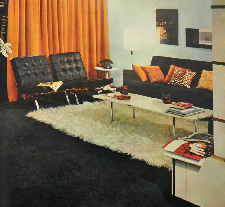 Amazing Interior Design 1960 Decor
