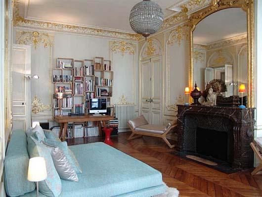 Interior Design French Decorative Style Photo   1