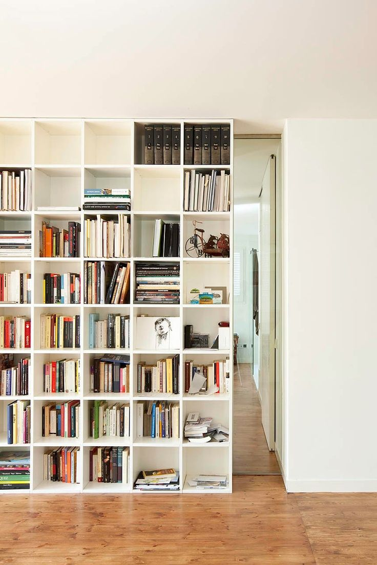 Interior Design Sliding Bookcase