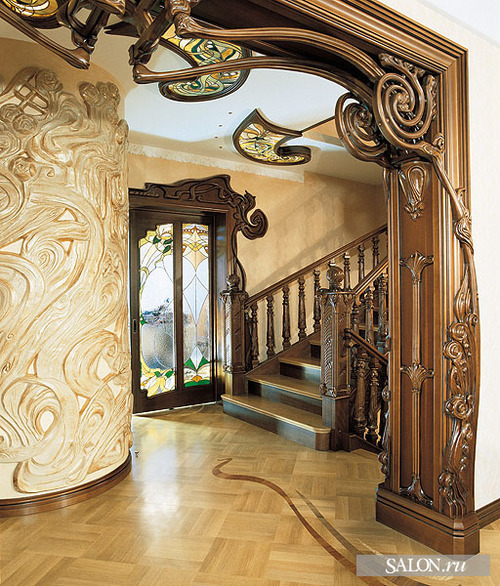 Interior Design Styles Art Nouveau
