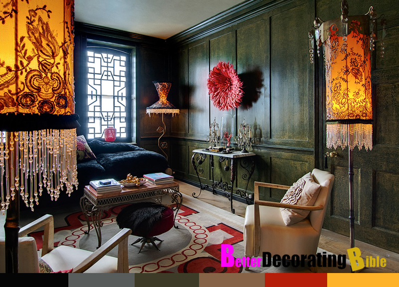 Interior Design Styles Bohemian photo - 2