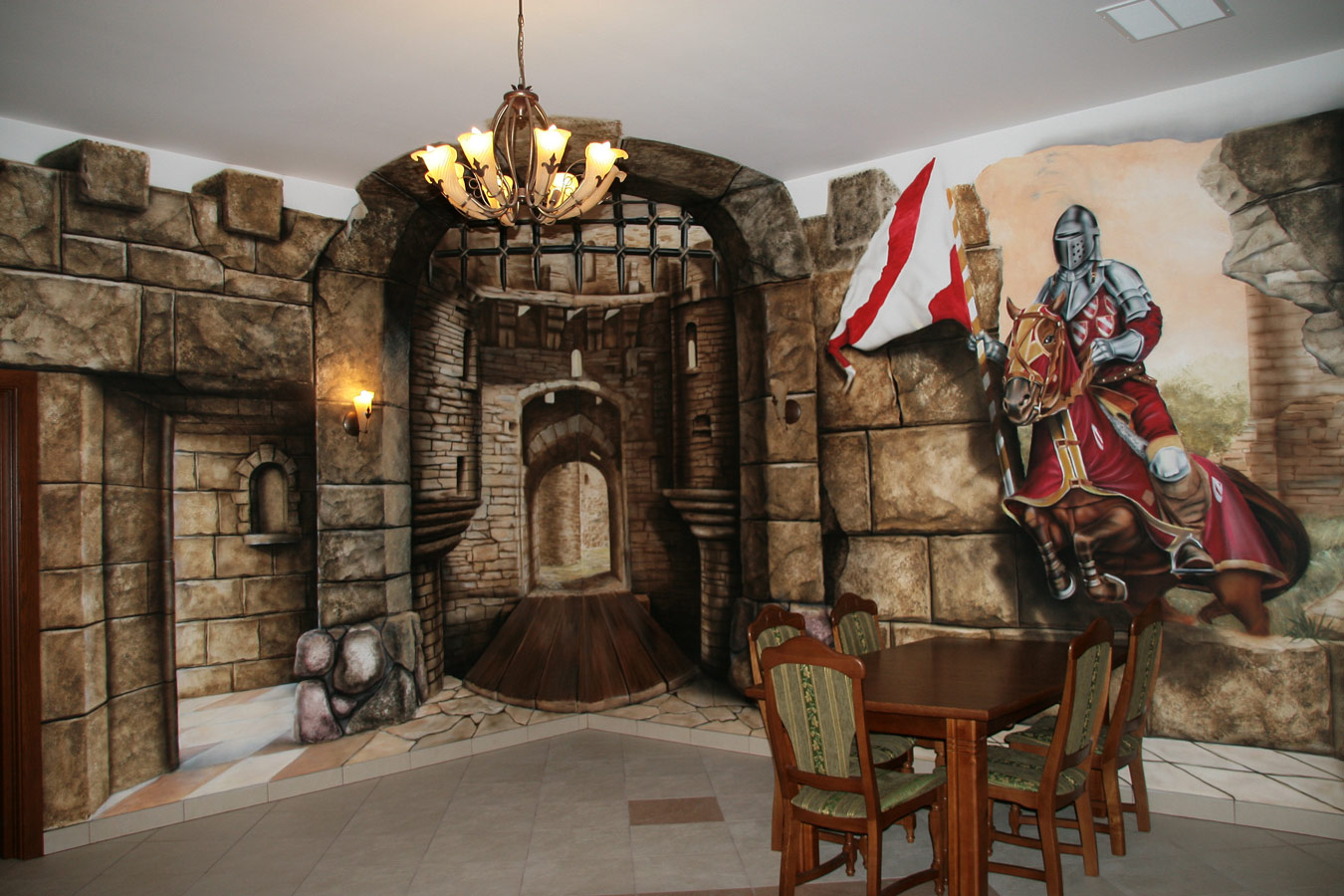 Interior Design Styles Medival photo - 2