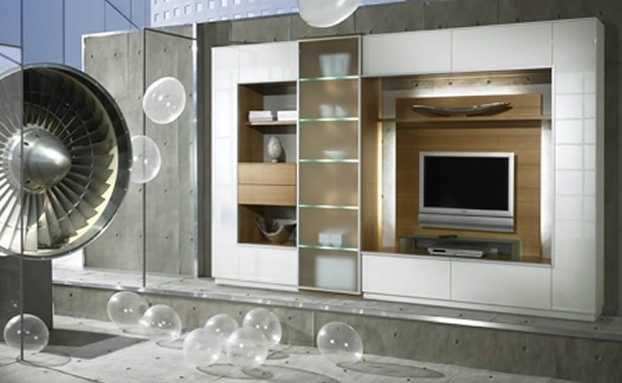 Interior Furniture Wall unit » Design and Ideas