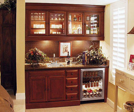 Interior Furniture Wet Bar