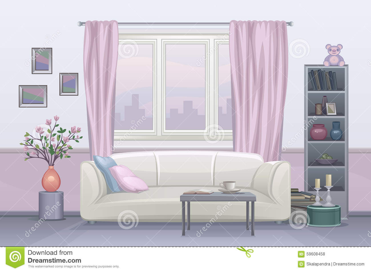 Interior Furniture Window