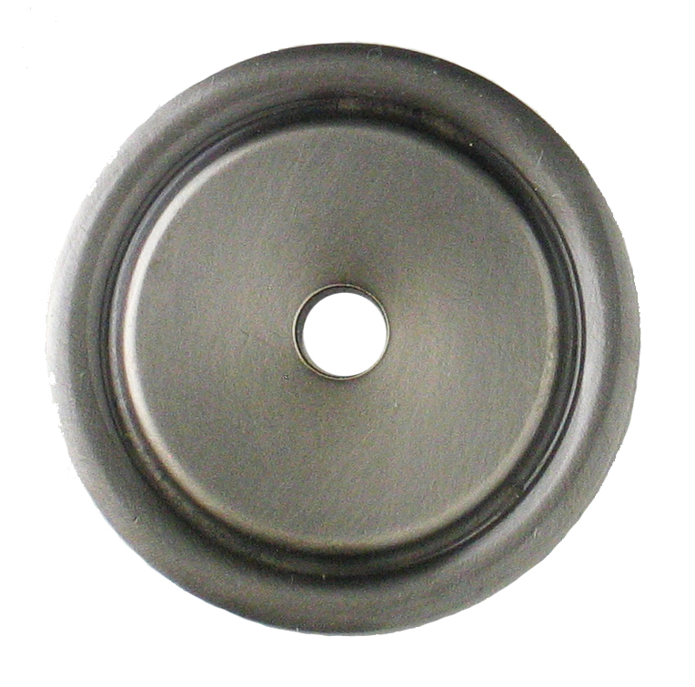 Kitchen Cabinet Backplates Raised Oval Knob Backplate