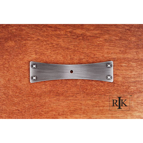 Kitchen Cabinet Backplates Textured Backplate One Hole ...
