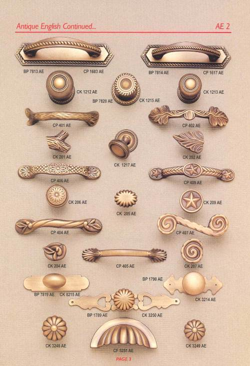 Kitchen Cabinet Knobs Provincial Knob