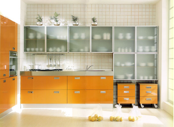 Kitchen Cabinet Material Glass photo - 2