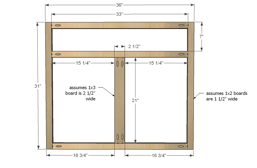 Kitchen Cabinet Parts Face Frame » Design and Ideas