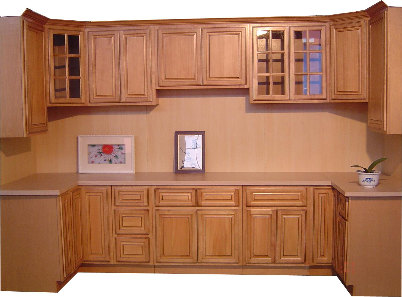 Kitchen cabinet parts door design and ideas for Solid wood kitchen cabinets