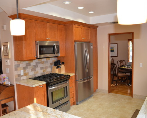 kitchen cabinet type  A splash of color photo - 2