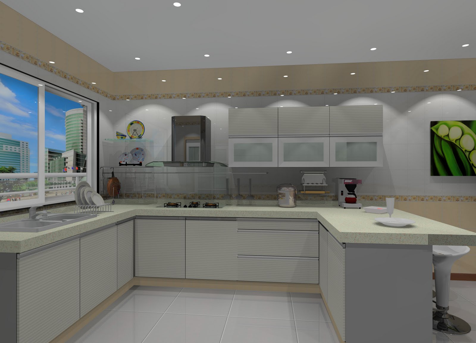 kitchen cabinet type design