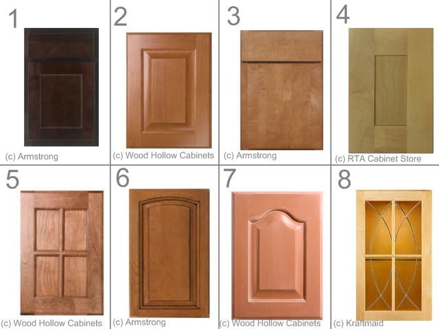 kitchen cabinet type Mixed door styles » Design and Ideas