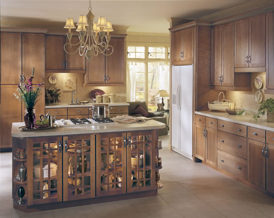 kitchen cabinet type TRANSITIONAL