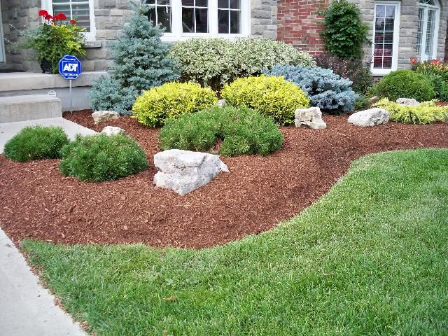 Landscaping With Shrubs : Landscaping with rocks and shrubs ? design ideas