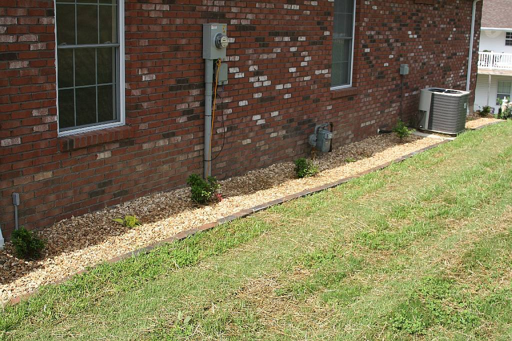 Landscaping With Rocks Around House