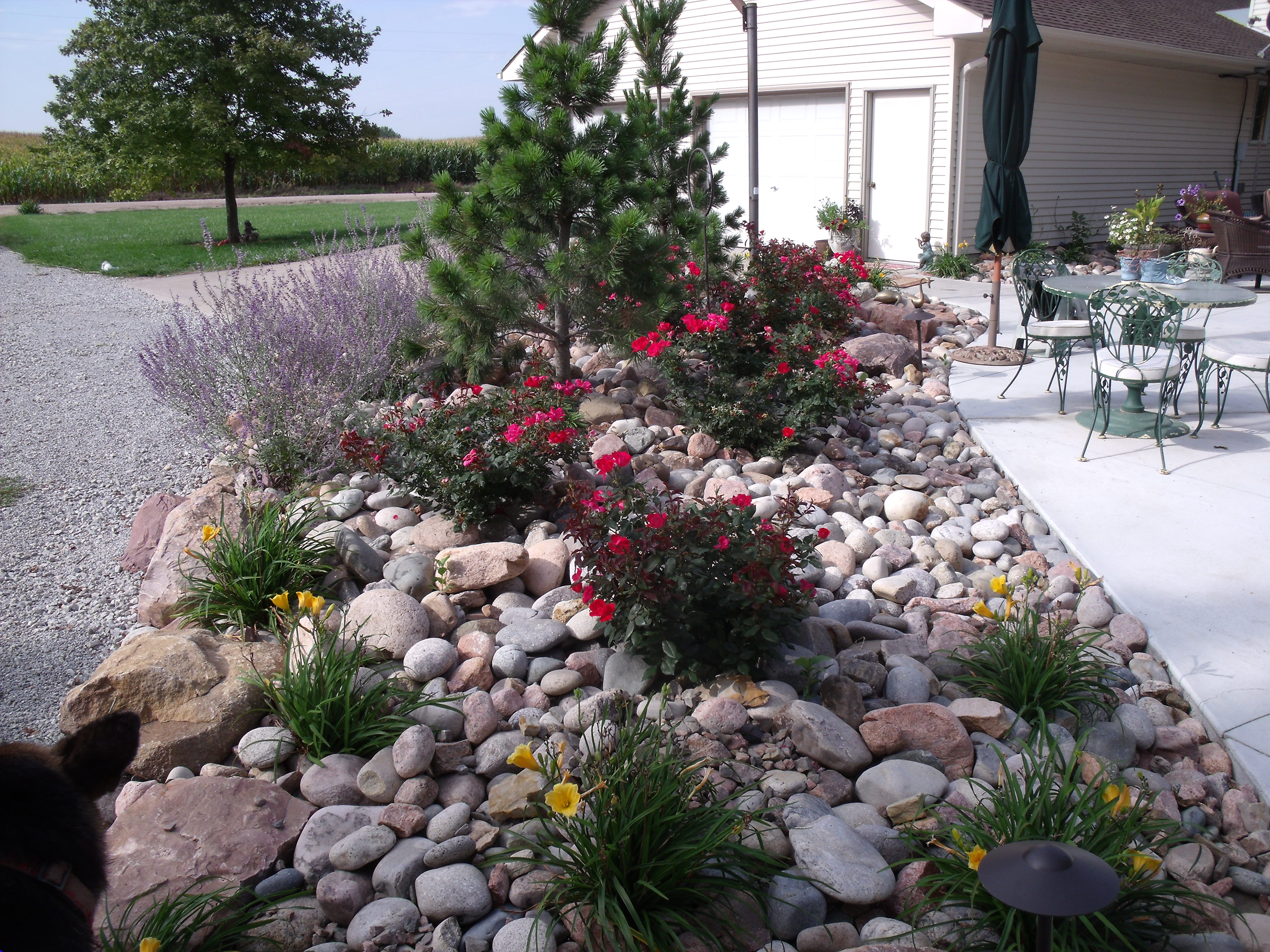 Landscaping With Rocks Around Pool Design And Ideas