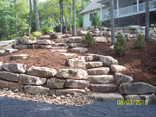 Landscape page 7 for Landscaping rocks on a hill