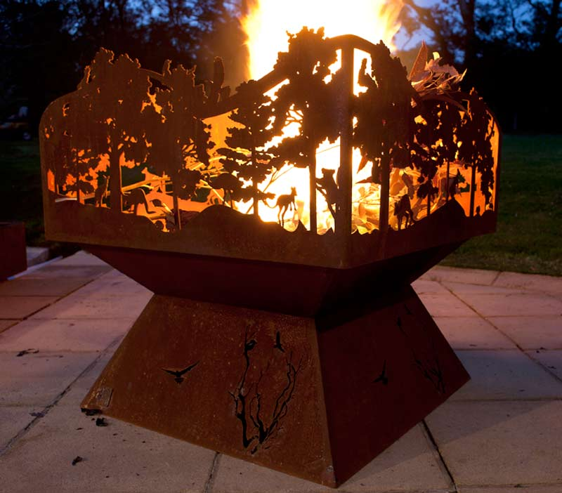large fire pit australia  photo - 1