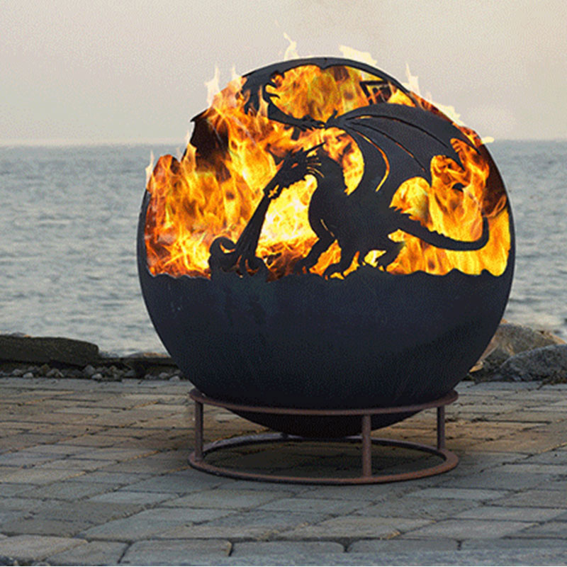 Large Fire Pit Brazier 187 Design And Ideas