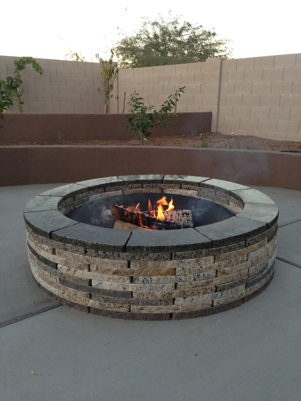 large fire pit kit  photo - 1