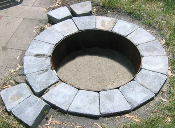 Large fire pit brisbane design and ideas for Big fire pit