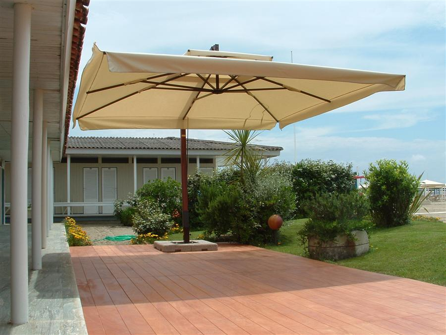 Large Patio Umbrella Canopy Design