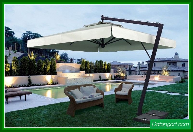 Large Patio Umbrellas Home Depot