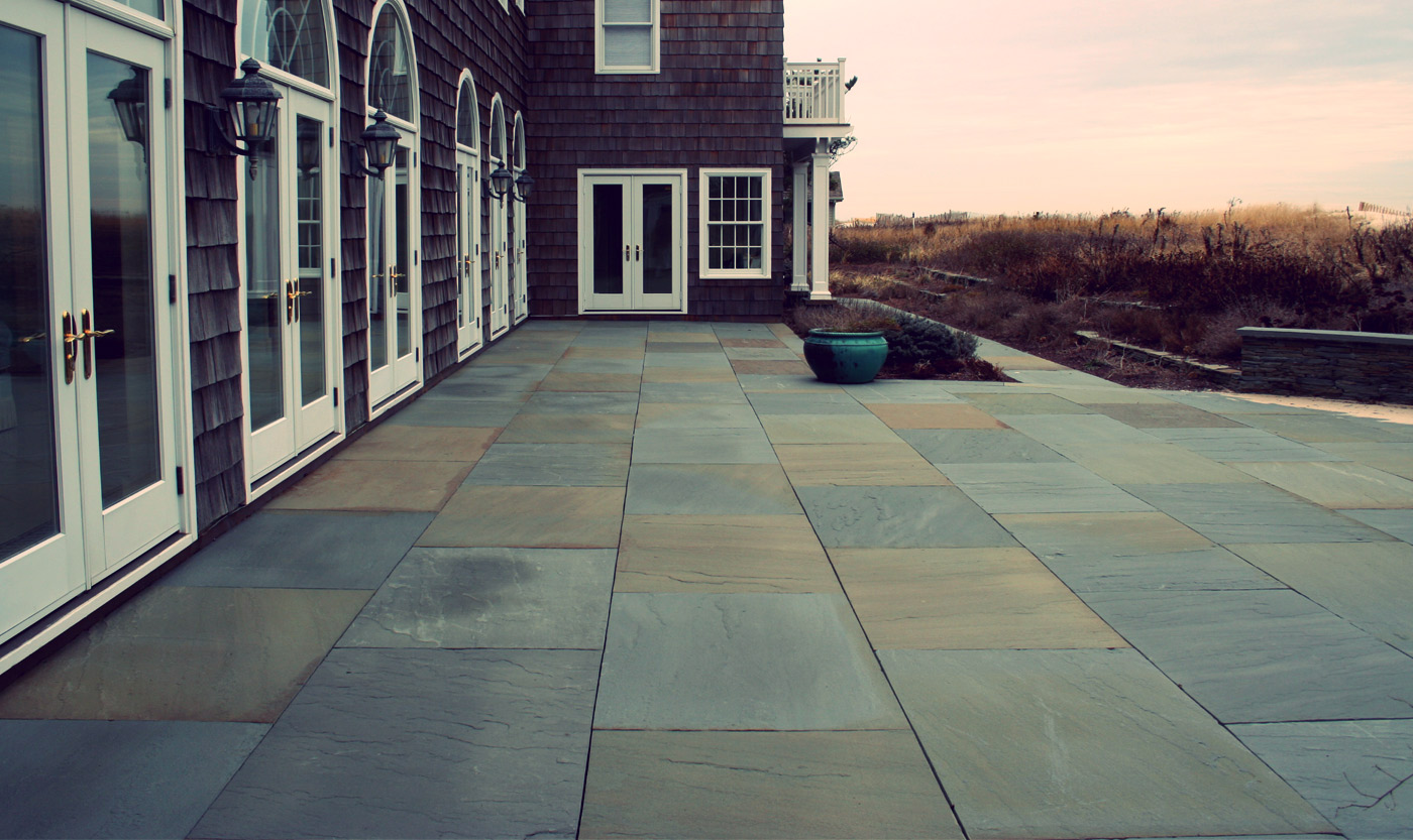 Laying A Bluestone Patio