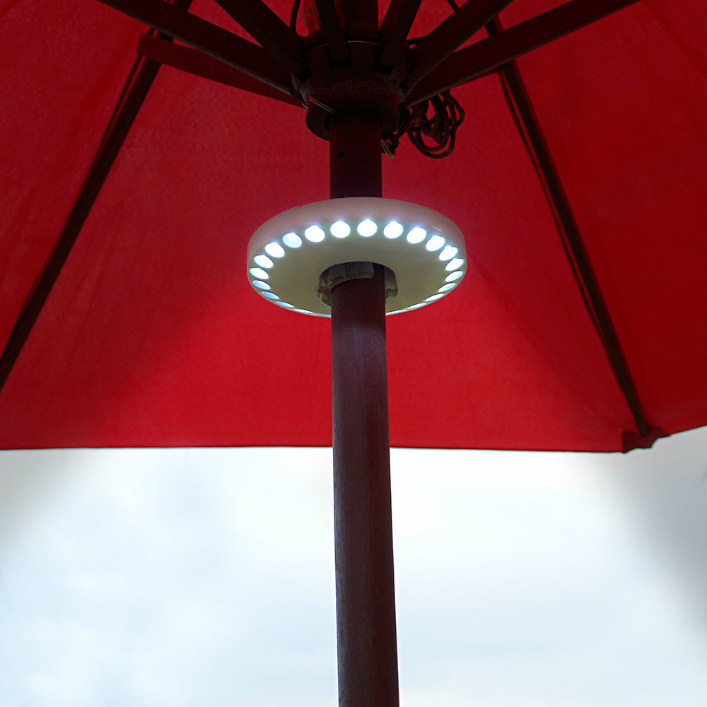 Charming Led Lights Patio Umbrella