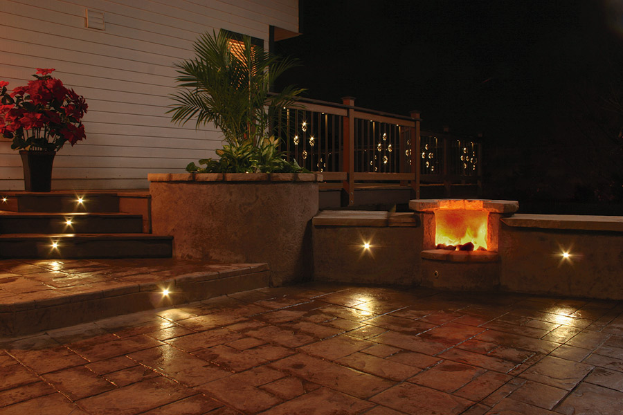 led patio