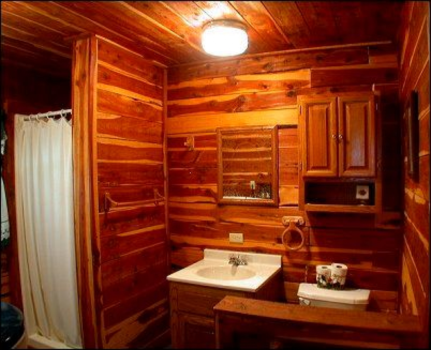 Log Cabin Bathroom Ideas. Log Cabin Bathroom Designs