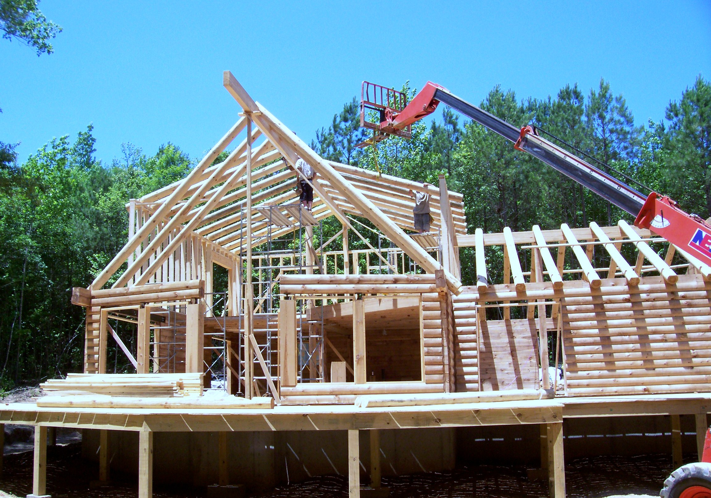 Log cabin builders alabama design and ideas for Log cabin builders in alabama