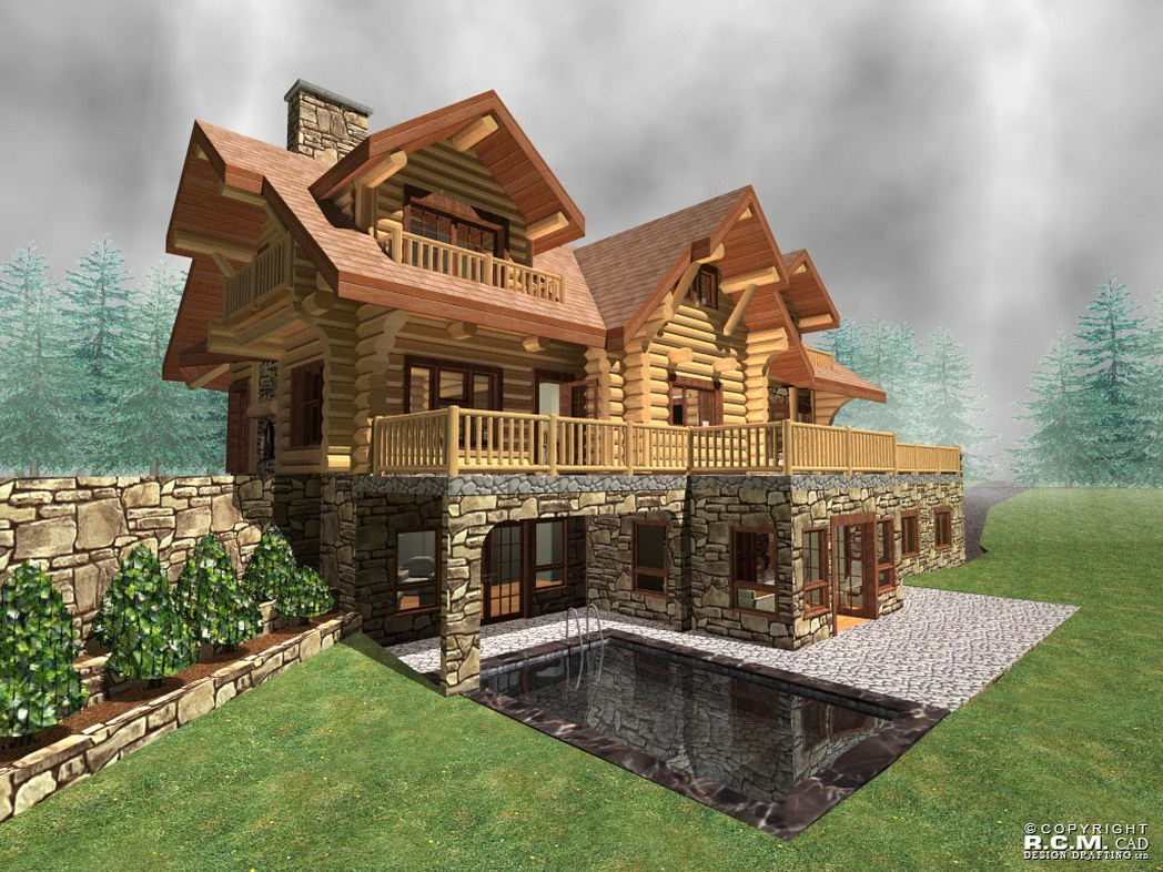 Log cabin builders colorado design and ideas for Colorado log home plans