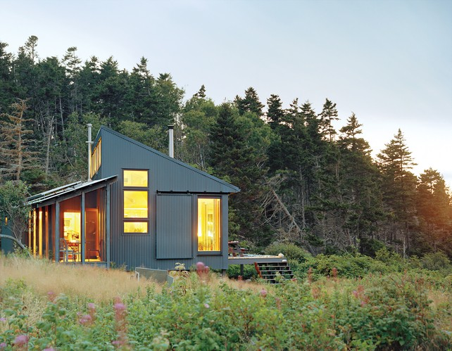 Log Cabin Builders In Maine