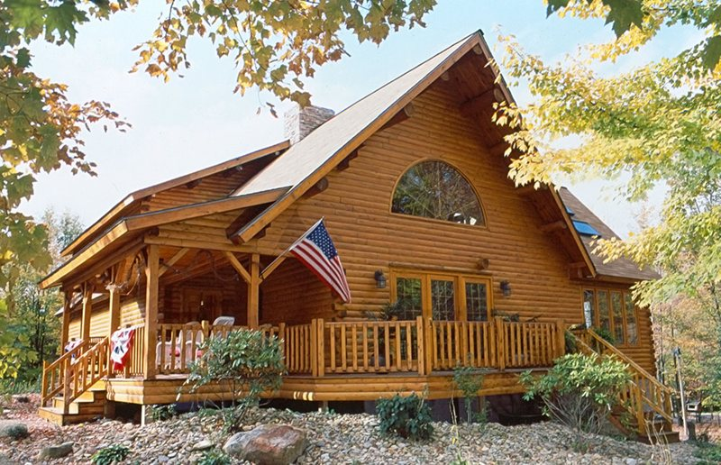 Log Cabin Builders In Maine Design And Ideas