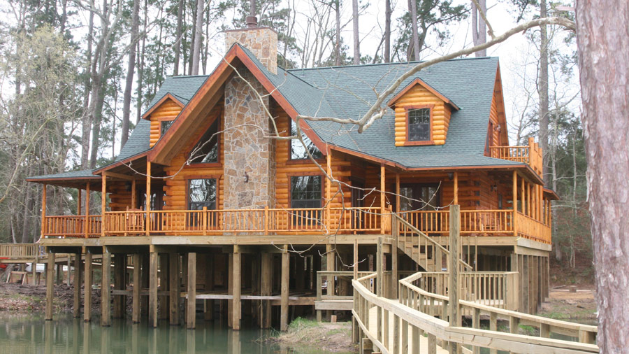 log cabin builders in nc  photo - 2