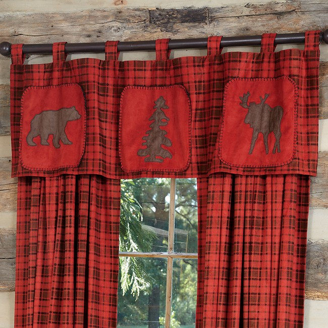 Log Cabin Curtains Drapes Photo   2