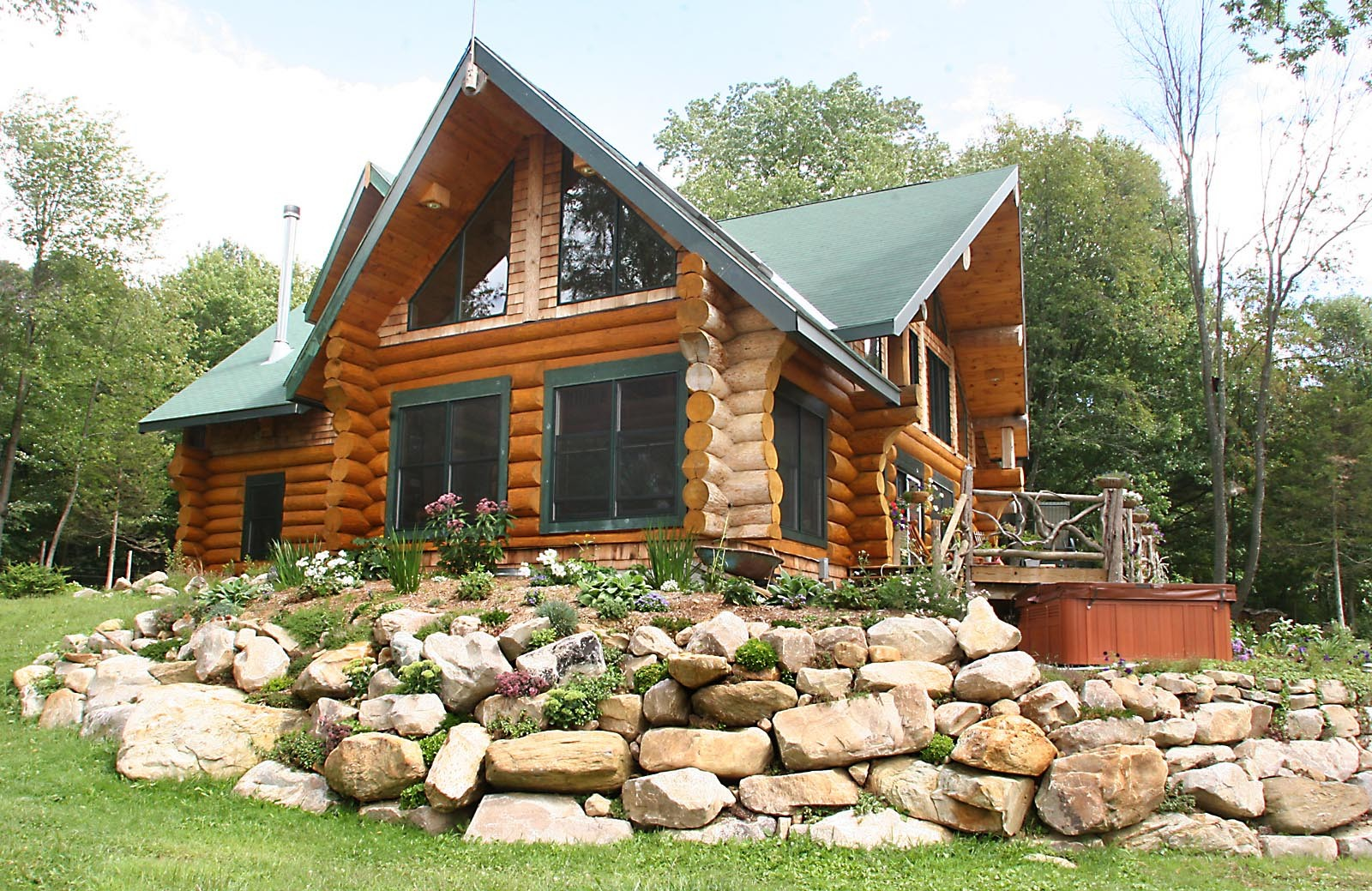 Log cabin designs canada design and ideas for Log cabin furniture canada