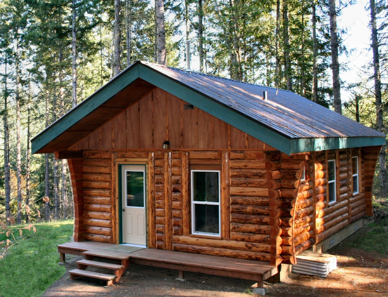 Log cabin designs maine design and ideas for Log shed design