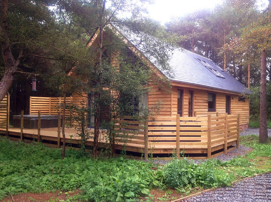 log cabin designs uk